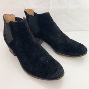Lucky Brand / Bellamy Ankle Leather Boots - Size 9